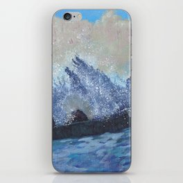 Waves on Rocks iPhone Skin