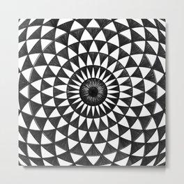 Magic Eye -Torus Metal Print
