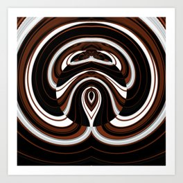 Egyptian Abstract Art Art Print