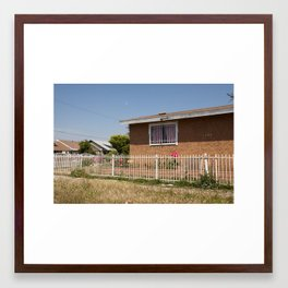 Compton. Framed Art Print