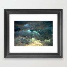 Seeing Thunder Framed Art Print
