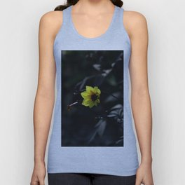 Yellow and dark variation Unisex Tank Top