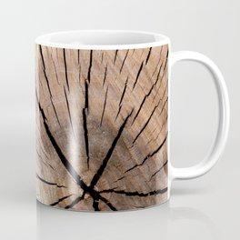 Brown Wood Coffee Mug
