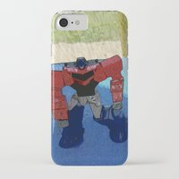 optimus prime iPhone & iPod Cases featuring Optimus by Tara Michele