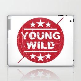 Young wild Laptop & iPad Skin