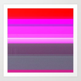 gradient_abstract-001 Art Print