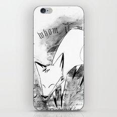 minima - deco fox iPhone & iPod Skin