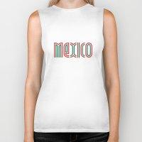 mexico Biker Tanks featuring Mexico! by nikitaprokhorov
