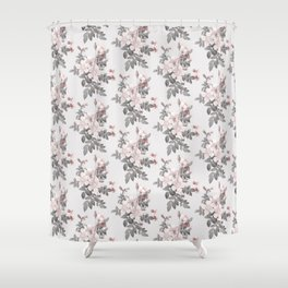 Delicately rough Shower Curtain