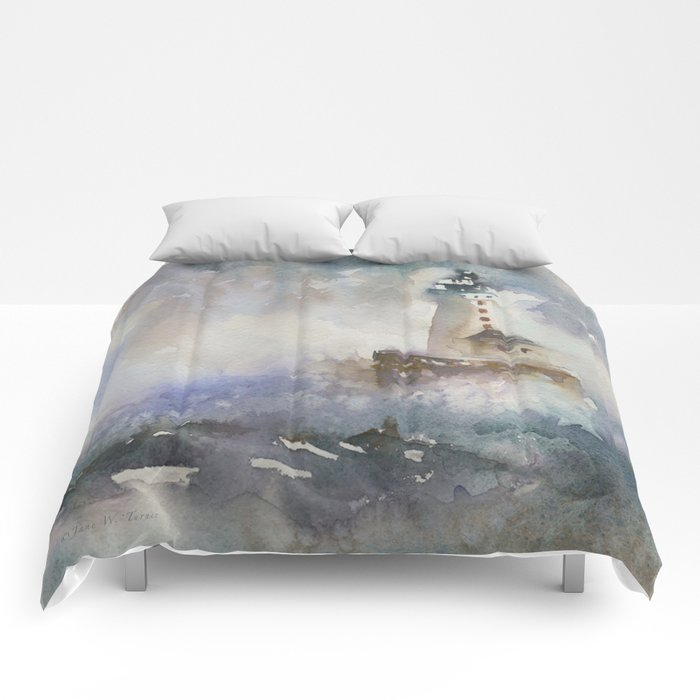 Stannard Rock Light Comforters