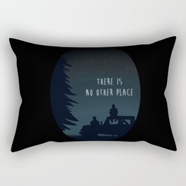 Sterek Glow Print Rectangular Pillow