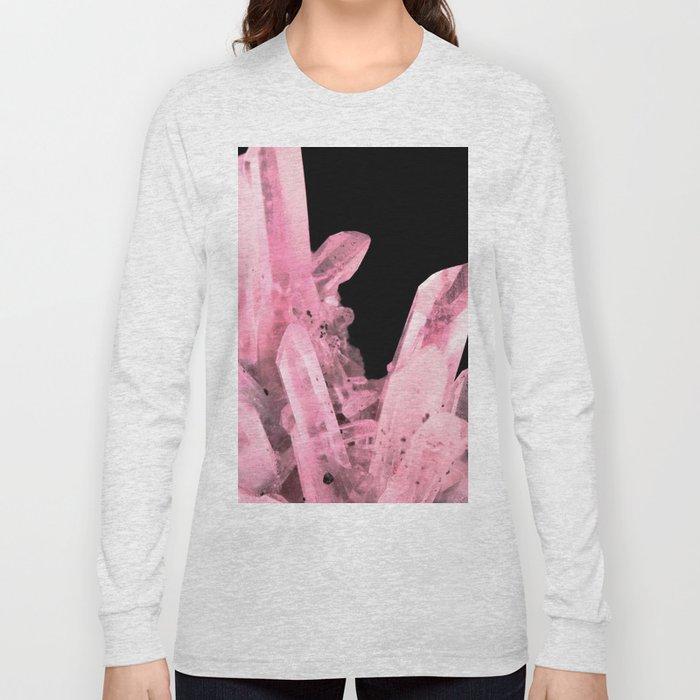 Pink Crystals Long Sleeve T-shirt
