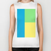 pantone Biker Tanks featuring Pantone colour by StevenARTify