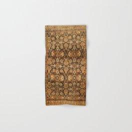 Antique Persian Malayer Rug Print Hand & Bath Towel