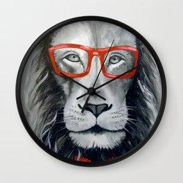 Fashionable lion Wall Clock