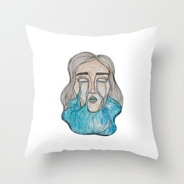 Beauty in Dismay Throw Pillow
