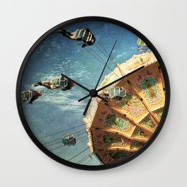 perfect spin Wall Clock