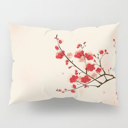 Oriental plum blossom in spring 009 Pillow Sham