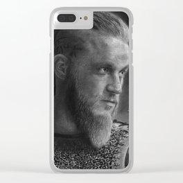 Ragnar Lothbrok Clear iPhone Case