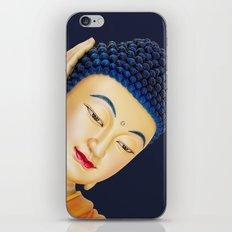 buddha face iPhone & iPod Skin