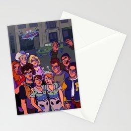 CRASHDOWN Stationery Cards