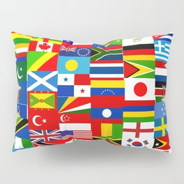 Flag Montage Pillow Sham