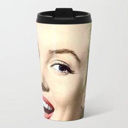 Marilyn Fan Drawing Monroe Travel Mug