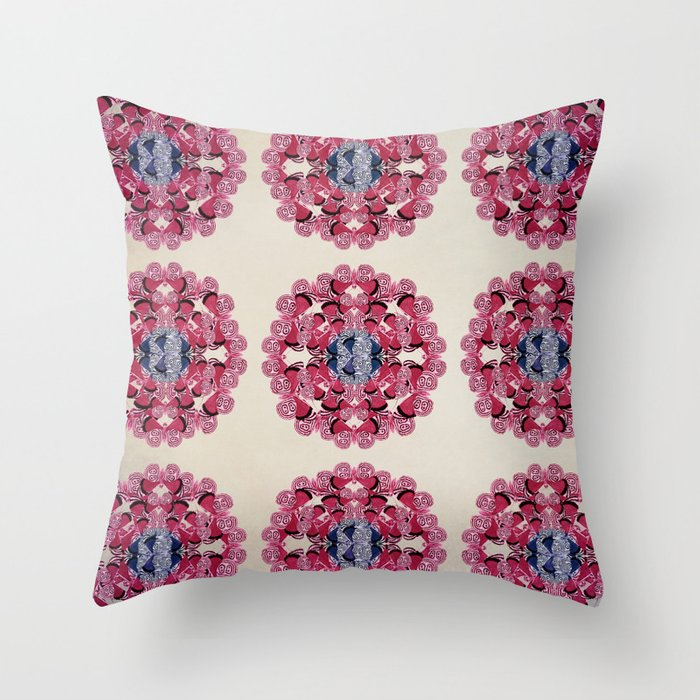 Butterfly Dance Throw Pillow