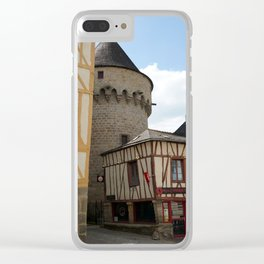 Vannes 4 Clear iPhone Case