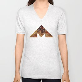 COAL MOUNTAIN Unisex V-Neck