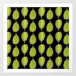 strange fruits (durian) Art Print