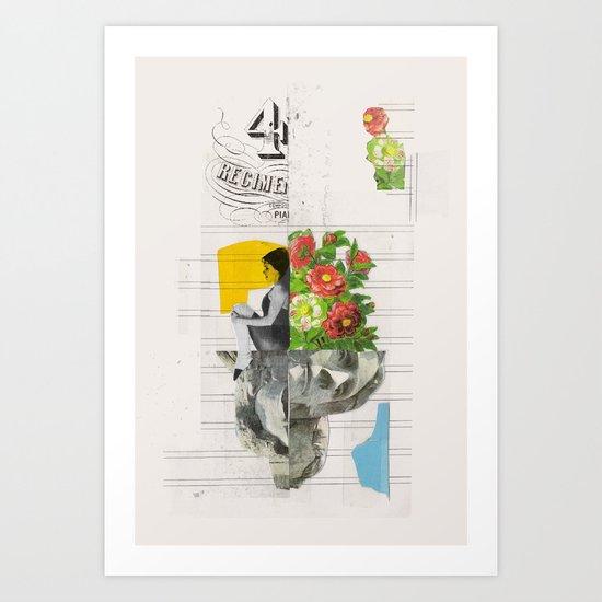 4 Hybrid  Art Print