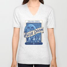Blue Doom Unisex V-Neck