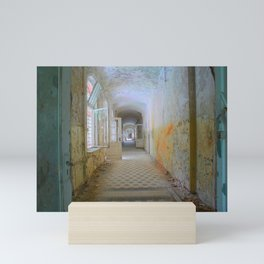 Lost Places, Beelitz Heilstaetten corridor Mini Art Print