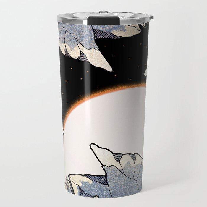 Asteroid cave Travel Mug