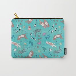 Sea Otters Carry-All Pouch