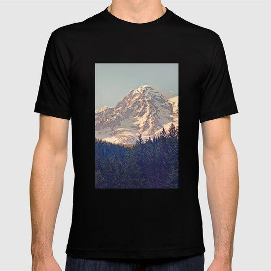 Mount Rainier Retro T-shirt