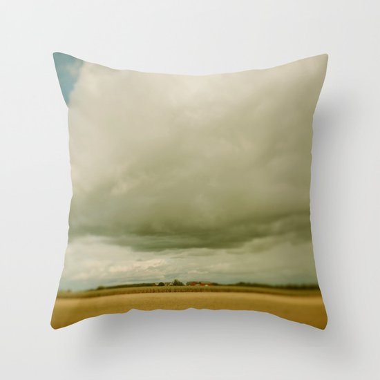 Flatlands  Throw Pillow