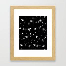 Starry Stars II Framed Art Print
