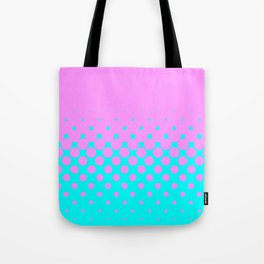 Pink to Blue Tote Bag