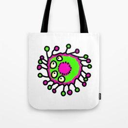 Bacteria Doodle Tote Bag