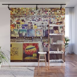 Record Store Wall Mural