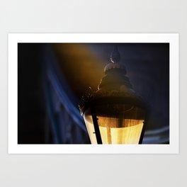 London Lamp Light Art Print