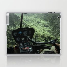 Helicopter Pilot's View Laptop & iPad Skin