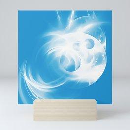 abstract fractals 1x1 reacwb Mini Art Print