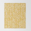 Boho Mudcloth Pattern, Summer Yellow by meganmorrisart