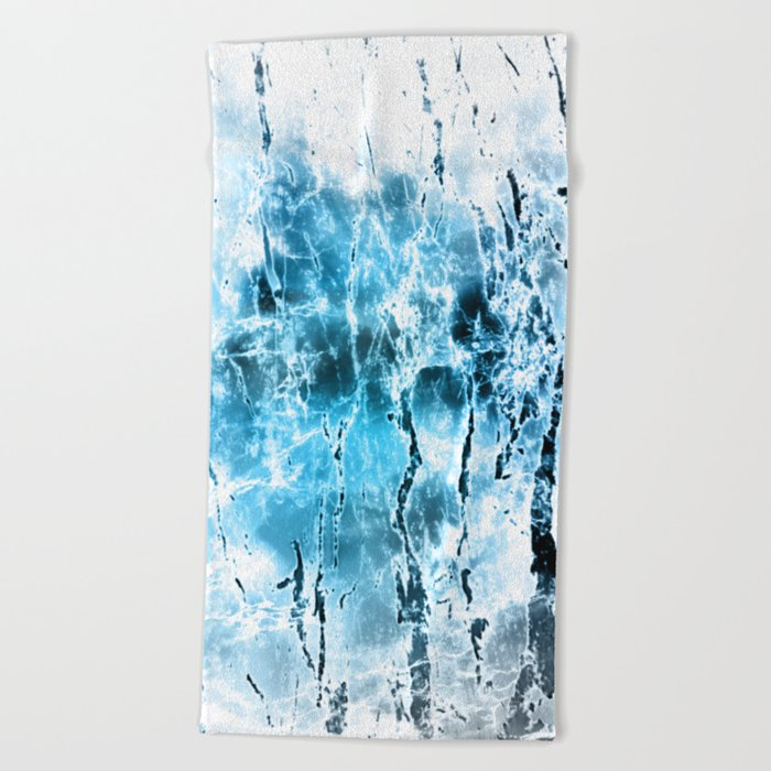 Diamond Dust Beach Towel