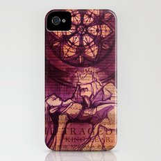 King Lear Shakespeare Folio Art iPhone (4, 4s) Slim Case
