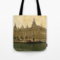 Haydarpasa Railway Station Tote Bag