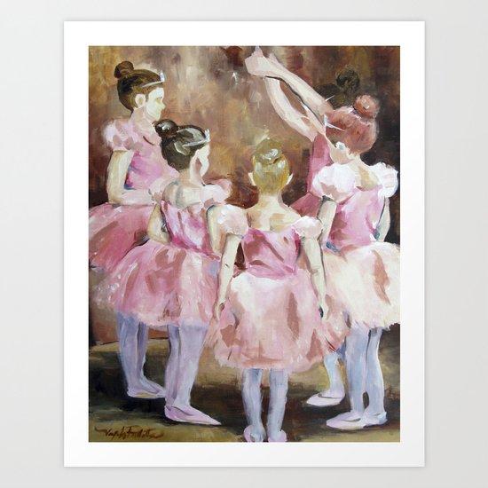 Before the Dance - Ballet Series Art Print